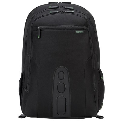"Targus TBB019US 17"" Spruce EcoSmart Checkpoint-Friendly Backpack - Black"
