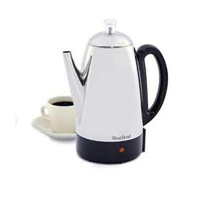 Back To Basics 54159 Wb 12 Cup Percolator Ss 8397953