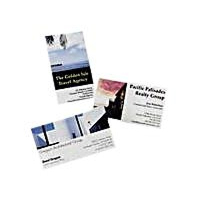 Avery Dennison 8373 Photo business cards - glossy - white - 20 pcs. 8)