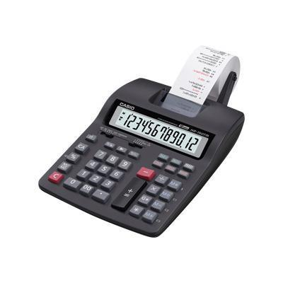 Casio HR150TM HR 150TM Printing calculator LCD 12 digits battery