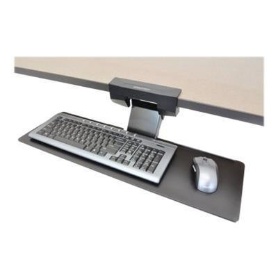 Ergotron 97-582-009 Neo-Flex Underdesk Keyboard Arm - Keyboard/mouse arm mount tray - under-desk mountable - black