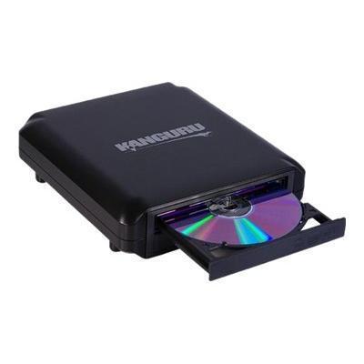 Kanguru Solutions U2-DVDRW-24X DVDRW USB 2.0 DVD Burner - Disk drive - DVD±RW (±R DL) - 24x/24x - USB 2.0 - external