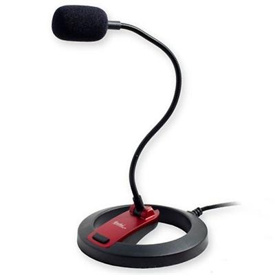 Syba Multimedia CL-ME-606 Connectland Hi-Fi Goose Neck Desktop Microphone