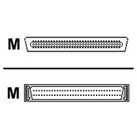 HP - SCSI external cable - HD-68 (M) - 68 pin VHDCI (M) - 12 ft - thumbscrews - for 1/8 G2 Tape Autoloader  LTO-4 Ultrium  LTO-5 Ultrium  StoreEver LTO-6  Ultrium 1840  920