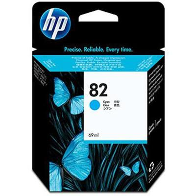 HP Inc. C4911A 82 69-ml Cyan Ink Cartridge