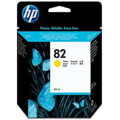 HP Inc. C4913A 82 69ml Yellow Ink Cartridge