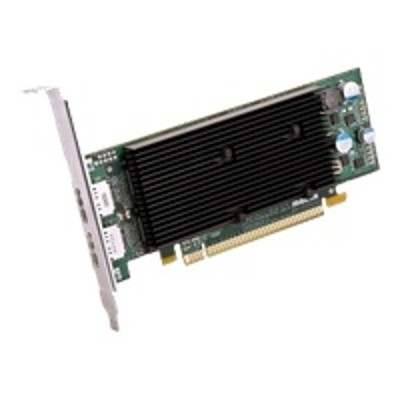 Matrox M9128 E1024LAF M9128 LP Graphics card M9128 1 GB DDR2 PCIe x16 low profile 2 x DisplayPort