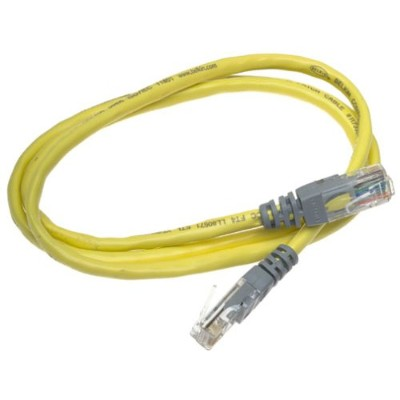 Belkin A3X126-03-YLW-M Crossover cable - RJ-45 (M) to RJ-45 (M) - 3 ft - UTP - CAT 5e - yellow