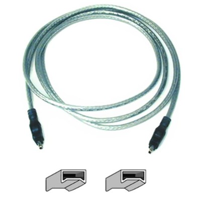 Belkin F3N402-03-ICE 3ft 4pin IEEE 1394 Ice FireWire Cable