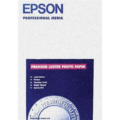 Epson S041406 11.7 x 16.5 Ultra Premium Photo Paper Luster - 50 Sheets 852789