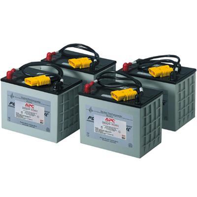 APC RBC14 Replacement Battery Cartridge #14 - UPS battery lead acid - black