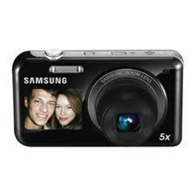 PL120 - Digital camera - compact - 14.2 Mpix - optical zoom: 5 x - supported memory: microSD microSDHC - black