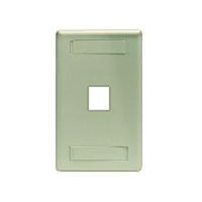 Black Box WP454 GigaStation - Wall plate - electric ivory - 1 port