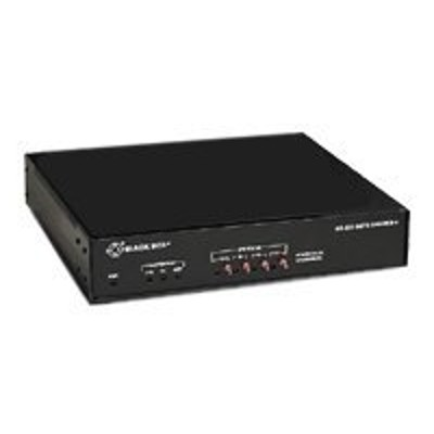 Black Box TL553A-R3 RS-232 Data Sharer - Concentrator - 4 ports - external