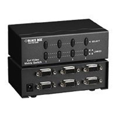 Black Box AC509A-EU Video Matrix Switch 2 x 8 Channel - Monitor switch - 8 x VGA + 2 x VGA - desktop