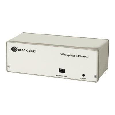 Black Box AC058A-R2 8 Chan Video Splitter Vga