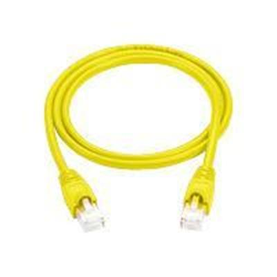 Black Box CAT5EPC-025-YL-5PAK Patch cable - RJ-45 (M) to RJ-45 (M) - 25 ft - UTP - CAT 5e - molded  snagless  stranded - yellow ( pack of 5 )