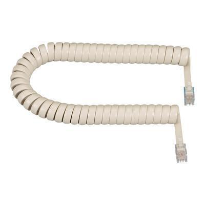 Modular Coiled Handset Cords handset cable - 25 ft