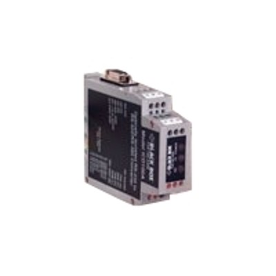 Black Box ICD100A RS 232< >RS 422 RS 485 DIN Rail Opto Isolated Convertor Serial adapter RS 232 RS 422 485