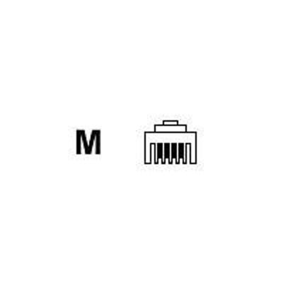 Black Box FM020-100PAK Rj-11/4 Wire - 100Pak