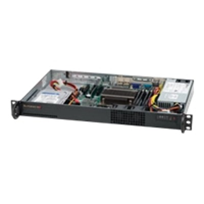 Super Micro SYS-5017C-LF Supermicro SuperServer 5017C-LF - Server - rack-mountable - 1-way - RAM 0 MB - no HDD - Nuvoton WPCM450RA0BX - GigE - monitor: none
