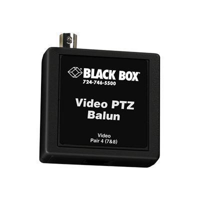 Black Box IC450A-R2 Video PTZ - Balun adapter - BNC (F) to RJ-45 (F)