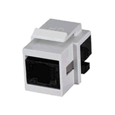 Black Box FMT350-R2 GigaStation 2 Snap Fitting - Modular insert - white - 1 port