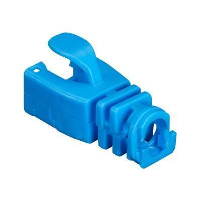 Black Box Snap-On Patch Cable Boot - Network cable boots - blue (pack of 50 )