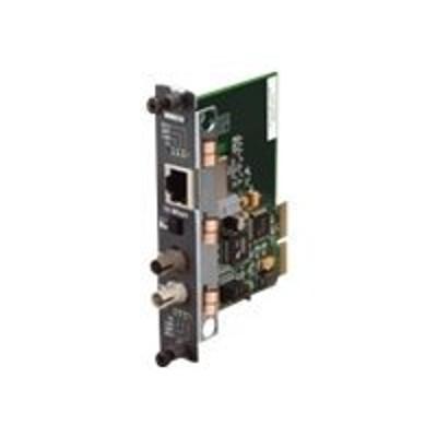 Black Box LGC5950C-R2 High-Density Media Converter System II Layer 2 Module - Fiber media converter - Gigabit Ethernet - 10Base-T 1000Base-SX 100Base-TX 100