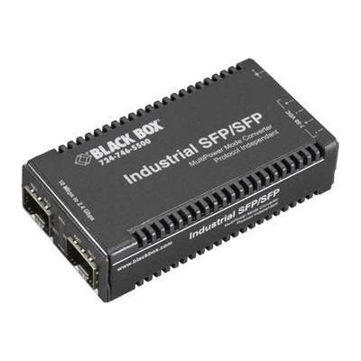 Black Box LGC300A-R2 Multi-Power Miniature Media Converter - Media converter - SFP (mini-GBIC) / SFP (mini-GBIC)