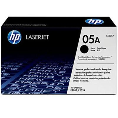 05A Black Dual Pack LaserJet Toner Cartridges with Smart Printing Technology