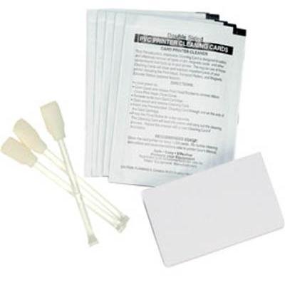 Zebra Tech 105909-169 Premier Cleaning Kit (50 pre-saturated cleaning cards and 25 cleaning swabs).