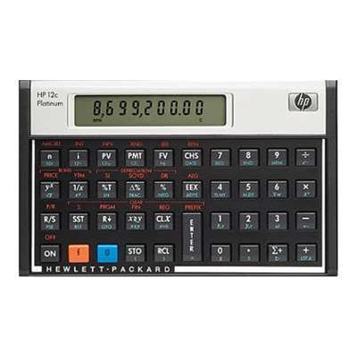 Hp F2231aa#abc 12c Platinum - Financial Calculator