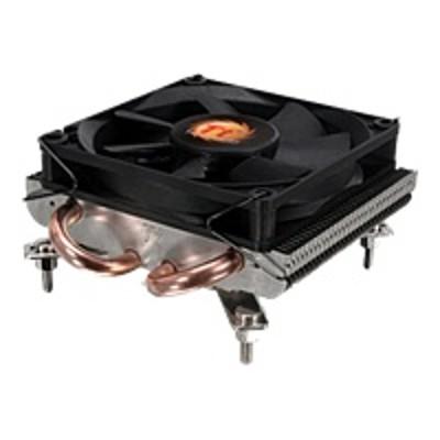 ThermalTake CLP0534 SlimX3 - Processor cooler - ( LGA775 Socket  LGA1156 Socket  LGA1155 Socket ) - aluminum - 80 mm