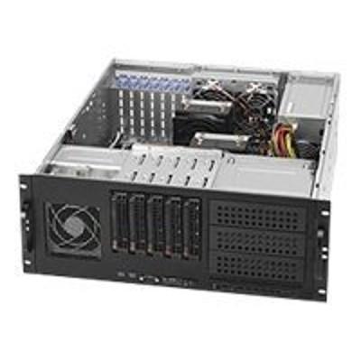 Super Micro CSE-842TQ-865B Supermicro SC842 TQ-865B - Rack-mountable - 4U - extended ATX - SATA/SAS - hot-swap 865 Watt - black - USB