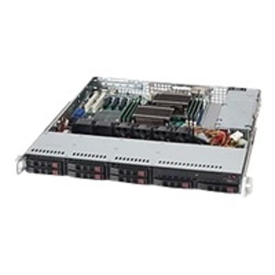 Super Micro CSE-113MTQ-330CB Supermicro SC113M TQ-330CB - Rack-mountable - 1U - ATX - SATA/SAS - hot-swap 330 Watt - black - for P/N: MBD-X9SRI-3F-B  MBD-X9SRI-