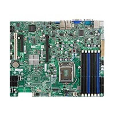 Super Micro MBD-X8SIE-LN4F-B SUPERMICRO X8SIE-LN4F - Motherboard - ATX - LGA1156 Socket - i3420 - 4 x Gigabit LAN - onboard graphics