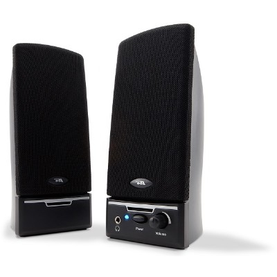 Cyber Acoustics CA-2014RB 2.0 Powered Speaker System