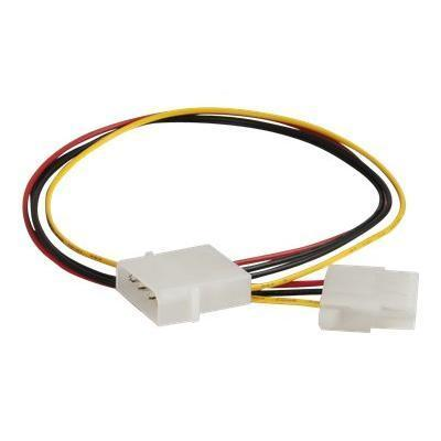 Cables To Go 27397 Power extension cable - 4 pin internal power (M) to 4 pin internal power (F) - 1.2 ft