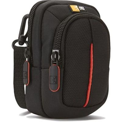 Case Logic DCB-302BLACK Compact Camera Case with Storage - Black