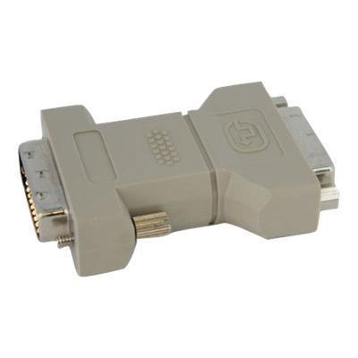 StarTech.com DVIIDVIDFM DVI-I to DVI-D Dual Link Video Cable Adapter F/M - DVI adapter - dual link - DVI-I (F) to DVI-D (M) - gray