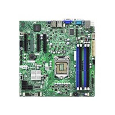 Super Micro MBD-X9SCL-F-B SUPERMICRO X9SCL-F - Motherboard - micro ATX - LGA1155 Socket - C202 - 2 x Gigabit LAN - onboard graphics