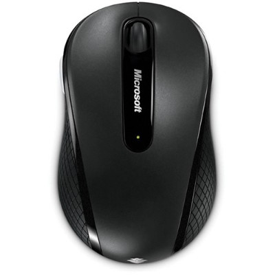 Microsoft 4DH-00001 Wireless Mobile Mouse 4000 for Business - Mouse - optical - 4 buttons - wireless - 2.4 GHz - USB wireless receiver