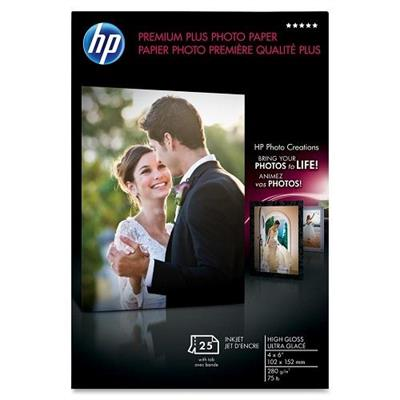 HP Inc. CR671A Premium Plus Soft-gloss Photo Paper - 25 sht/Letter/8.5 x 11 in
