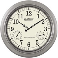 La Crosse Technology WT-3181PL 18 Atomic Analog Clock