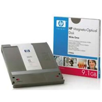 HP - WORM disk - 9.1 GB - storage media - for StorageWorks 600mx Optical Jukebox  700mx Optical Jukebox