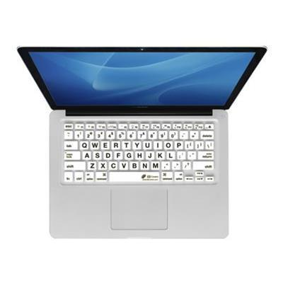 KB Covers LT-M-CW Large Type Kbcover for Macbook