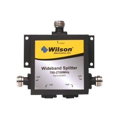 Wilson Electronics 859981 Four Way Splitter