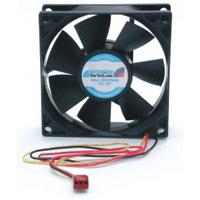 StarTech.com FANBOX2 8cm PC Case Cooling Fan w/RPM Sensor  3-lead Connector