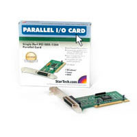 StarTech.com PCI1PECP 1 Port PCI Parallel Adapter Card Parallel adapter PCI IEEE 1284